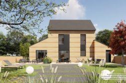 Maison+Terrain de 5 pièces avec 4 chambres à Baguer-Pican 35120 – 233829 € - JBLB-21-04-16-3