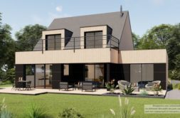 Maison+Terrain de 5 pièces avec 4 chambres à Tronchet 35540 – 457192 € - JBLB-21-04-14-4