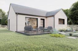 Maison+Terrain de 3 pièces avec 2 chambres à Issé 44520 – 142534 € - CVAS-21-06-24-14