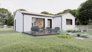 Maison+Terrain de 3 pièces avec 2 chambres à Issé 44520 – 137434 € - CVAS-21-04-30-40