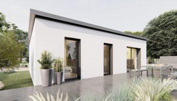 Maison+Terrain de 4 pièces avec 3 chambres à Lusanger 44590 – 161202 € - CVAS-21-06-01-30
