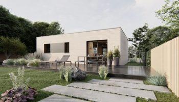 Maison+Terrain de 3 pièces avec 2 chambres à Ézy-sur-Eure 27530 – 211250 € - ABOI-21-01-27-72