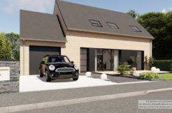 Maison+Terrain de 6 pièces avec 3 chambres à Bannalec 29380 – 286964 € - GCOL-21-08-27-2