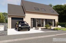 Maison+Terrain de 4 pièces avec 3 chambres à Vexin-sur-Epte 27630 – 290831 € - ABOI-21-02-17-340