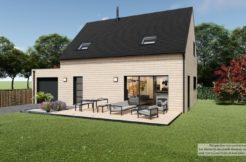 Maison+Terrain de 6 pièces avec 4 chambres à Relecq-Kerhuon 29480 – 286102 € - CPAS-21-04-19-22