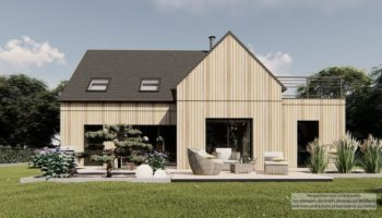 Maison+Terrain de 4 pièces avec 3 chambres à Pordic 22590 – 387232 € - YLM-21-10-15-5