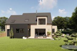 Maison+Terrain de 7 pièces avec 4 chambres à Landerneau 29800 – 391543 € - CPAS-21-04-14-2