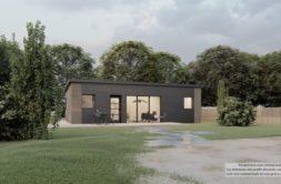 Maison+Terrain de 4 pièces avec 3 chambres à Derval 44590 – 152055 € - CVAS-21-04-30-36