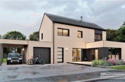 Maison+Terrain de 5 pièces avec 4 chambres à Plélan-le-Petit 22980 – 317151 € - KRIB-21-07-13-5