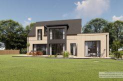 Maison+Terrain de 5 pièces avec 4 chambres à Hinglé 22100 – 301690 € - KRIB-21-07-13-9
