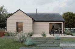 Maison+Terrain de 3 pièces avec 1 chambres à Chapelle-sur-Erdre 44240 – 383427 € - CVAS-21-09-23-67