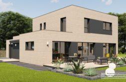 Maison+Terrain de 5 pièces avec 4 chambres à Plélan-le-Petit 22980 – 356939 € - KRIB-21-09-16-26