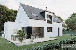 Maison+Terrain de 4 pièces avec 3 chambres à Locmaria-Grand-Champ 56390 – 335583 € - MLEP-21-06-11-2